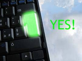 special YES keyboard