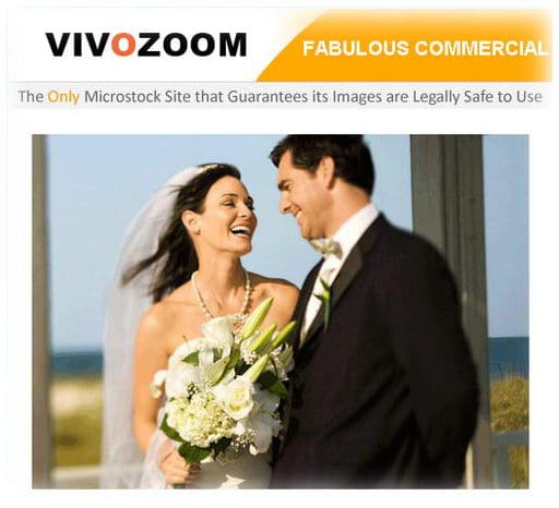 part of Vivozoom's home page - screen capture