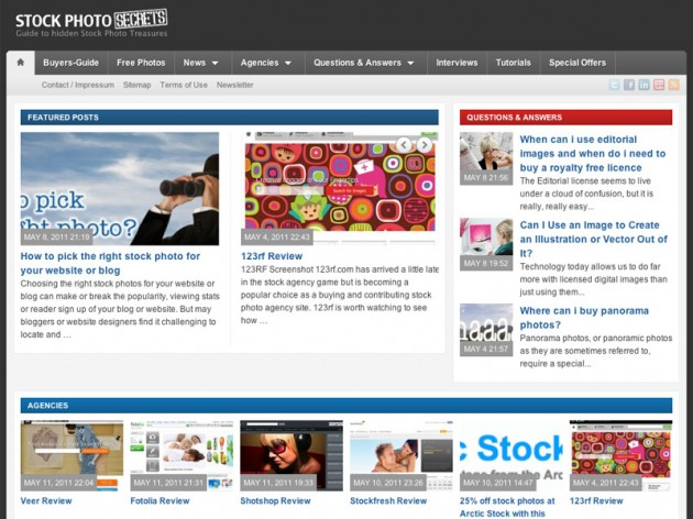 StockPhotoPress Screenshot
