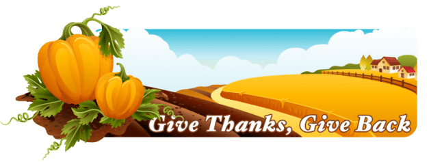 dreamstime Give Thanks, Give Back