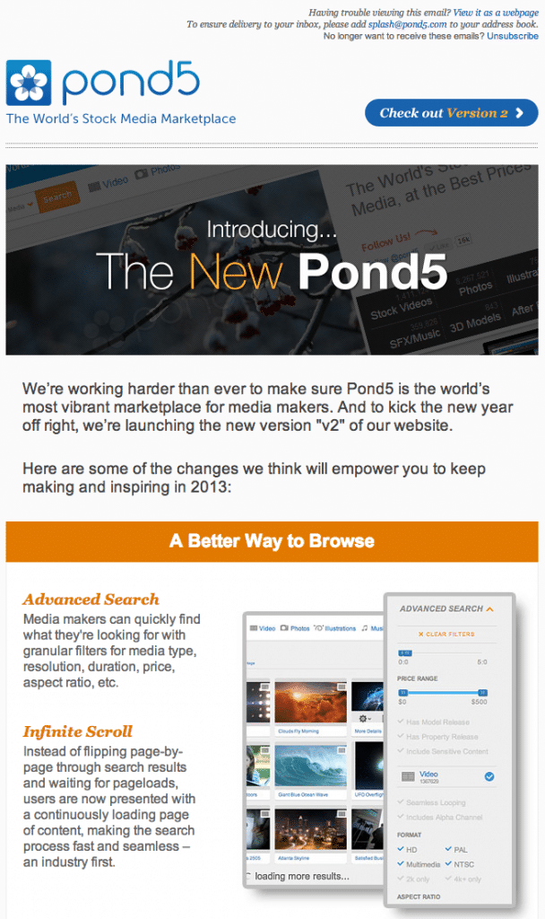 Screen Shot Pond5