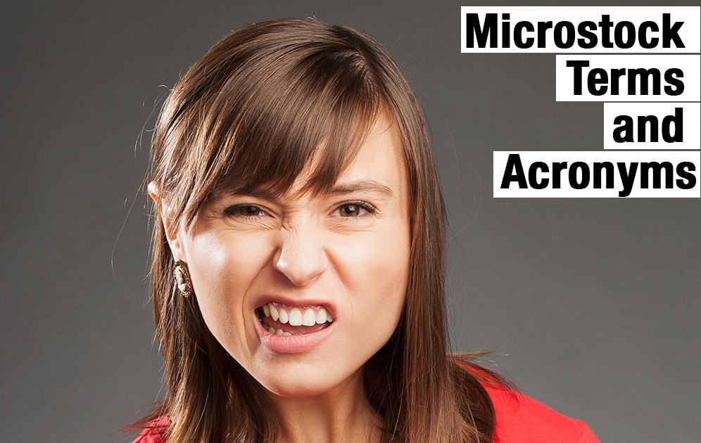List of Microstock Acronyms and Terms